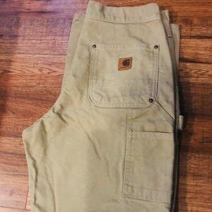 Carhartt work jeans 30x32 heavy weight